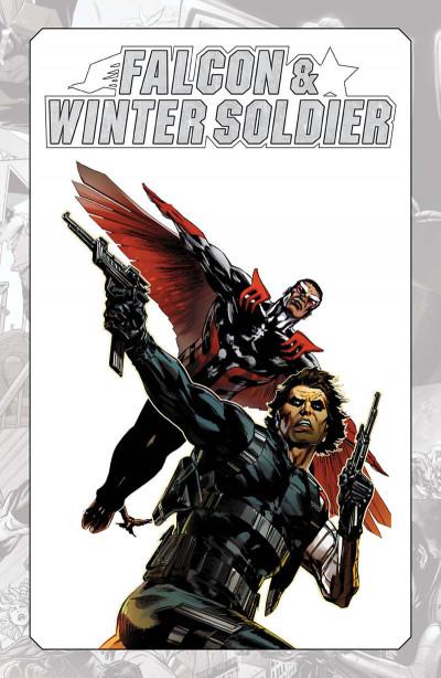 Page 1 Marvel-verse - Falcon & winter soldier