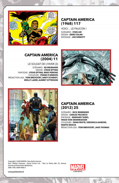 Page 2 Marvel-verse - Falcon & winter soldier