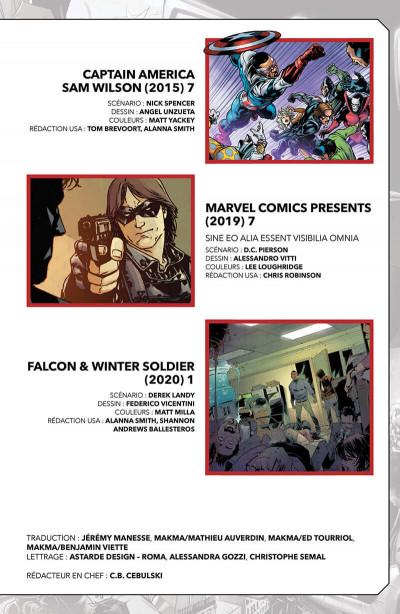 Page 3 Marvel-verse - Falcon & winter soldier