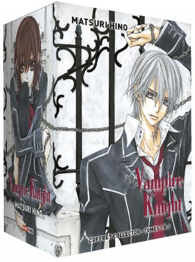 Couverture Vampire knight - coffret tomes 1 à 3
