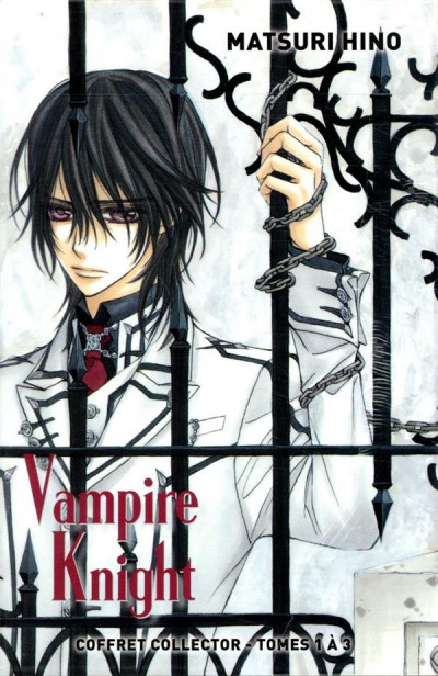 Dos Vampire knight - coffret tomes 1 à 3
