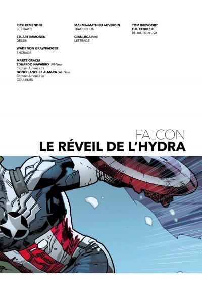 Page 3 Falcon - Le réveil de l'hydra