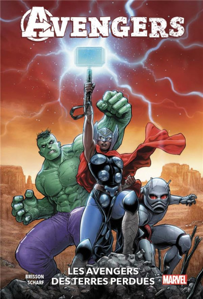 Couverture Avengers of the wasteland