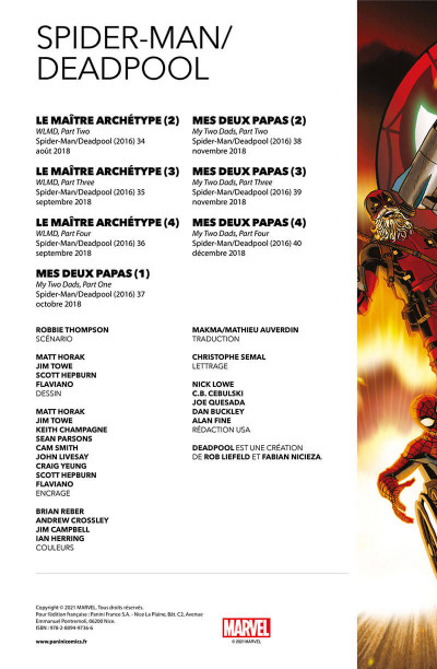 Page 2 Spider-man/Deadpool tome 1