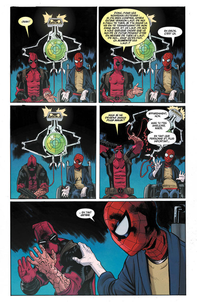 Page 8 Spider-man/Deadpool tome 1