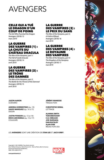 Page 2 Avengers tome 3