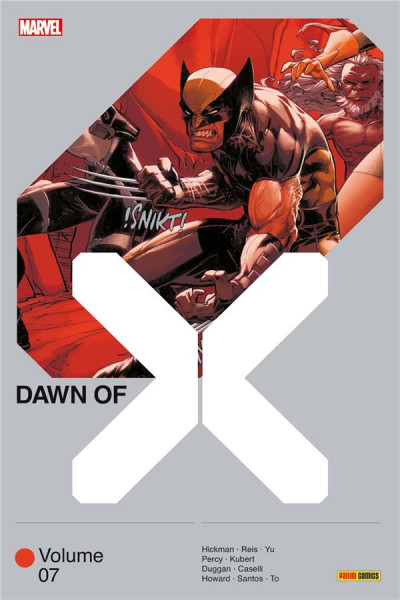 Couverture Dawn of X tome 7