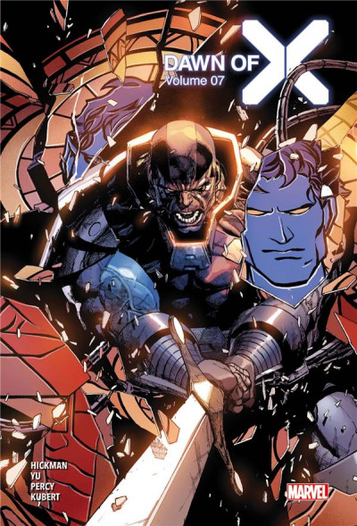 Couverture Dawn of X tome 7 (éd. collector)