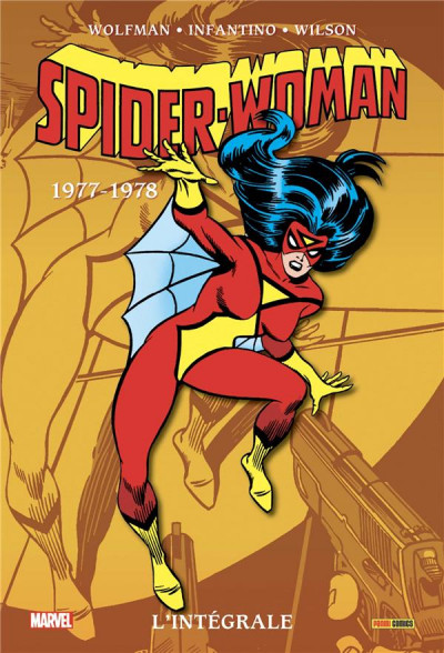 Couverture Spider-woman - intégrale tome 1