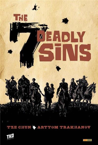 Couverture The seven deadly sins