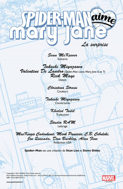 Page 3 Spider-man aime Mary Jane tome 2