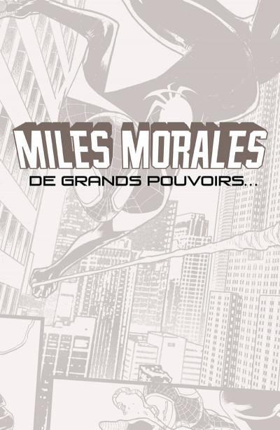 Page 1 Miles Morales - À grands pouvoirs