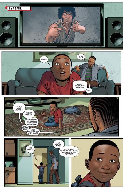 Page 6 Miles Morales - À grands pouvoirs