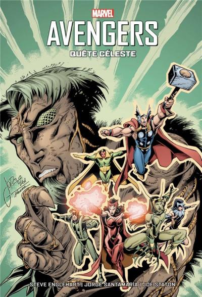 Couverture Avengers - Quête céleste