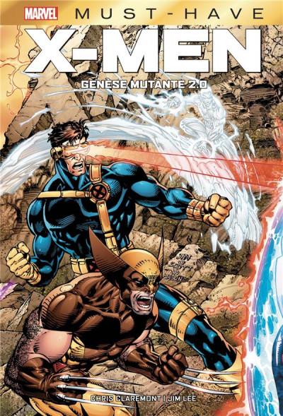 Couverture X-men - Genèse mutante