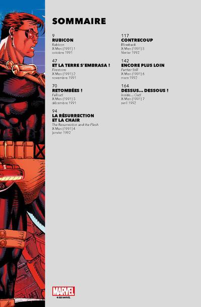 Page 2 X-men - Genèse mutante