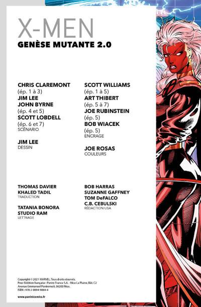 Page 3 X-men - Genèse mutante