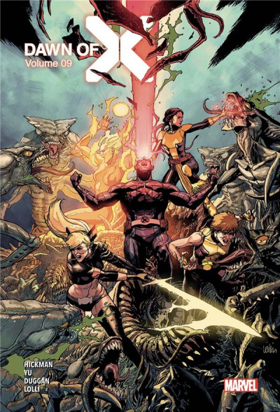 Couverture Dawn of X tome 9 (éd. collector)
