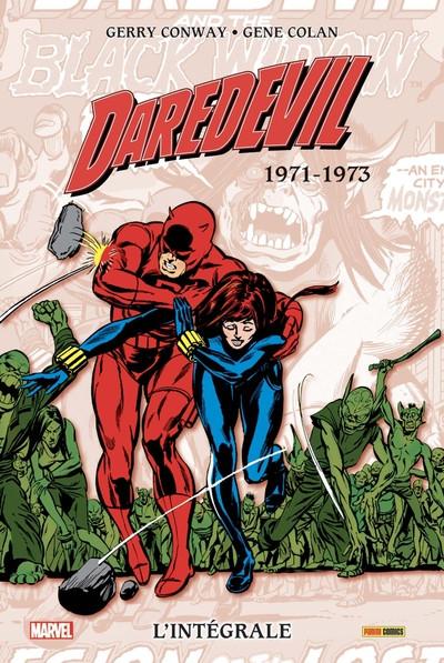 Couverture Daredevil - intégrale tome 8