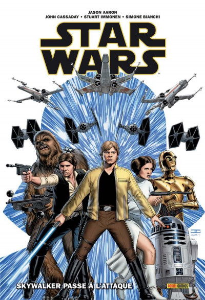 Couverture Star wars (deluxe) tome 1