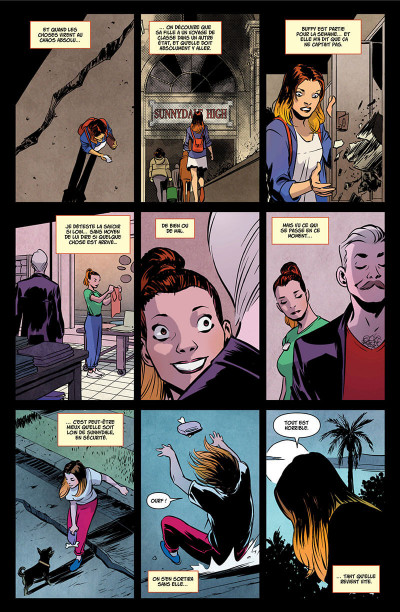 Page 8 Buffy contre les vampires tome 3