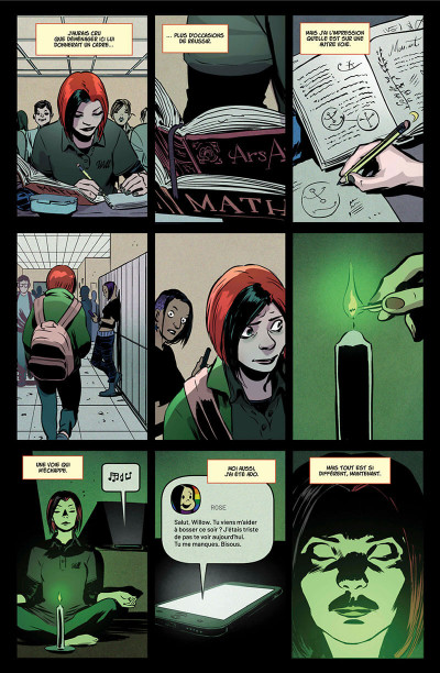 Page 9 Buffy contre les vampires tome 3