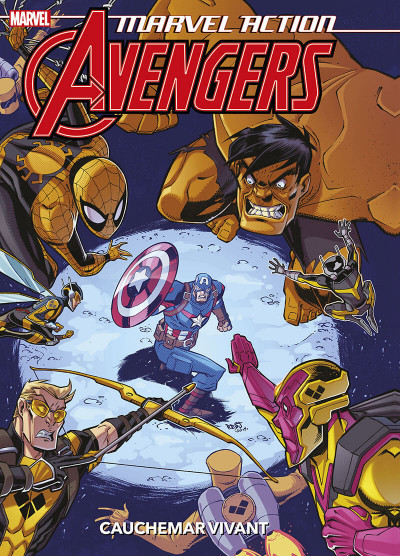 Couverture Marvel action Avengers tome 4