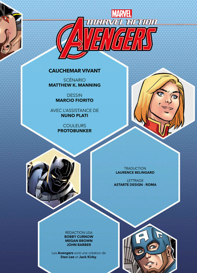 Page 3 Marvel action Avengers tome 4