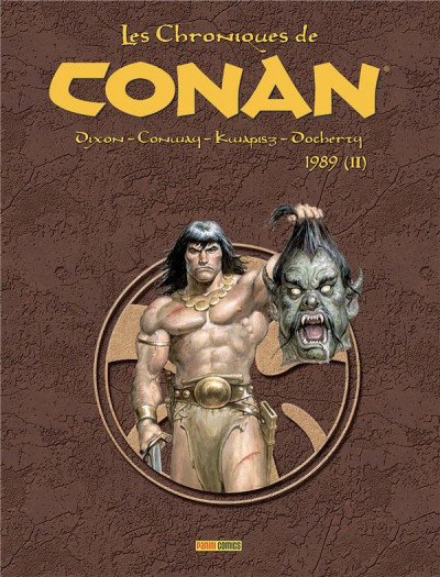 Couverture Les chroniques de Conan 1989 (II)