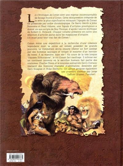 Dos Les chroniques de Conan 1989 (II)