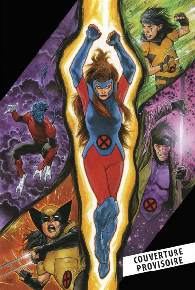 Couverture X-men red