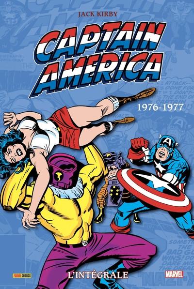 Couverture Captain America - intégrale tome 11