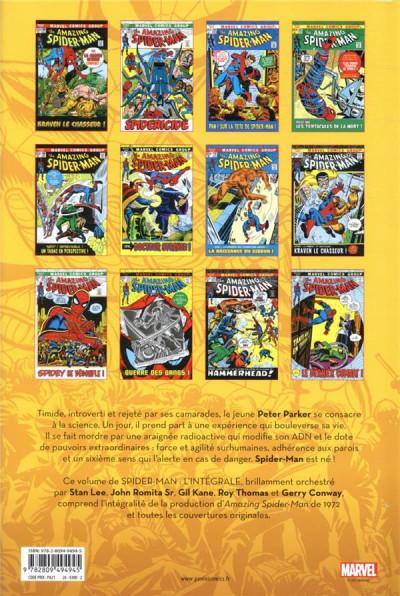 Dos Spider-man - intégrale tome 10
