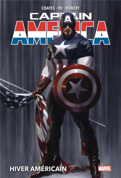 Couverture Captain America tome 1