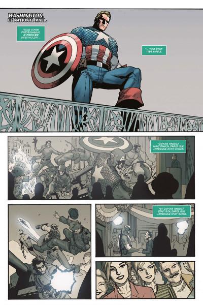 Page 6 Captain America tome 1