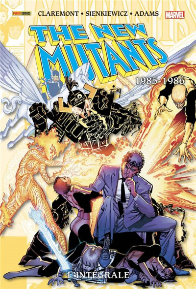 Couverture The new mutants - intégrale tome 4