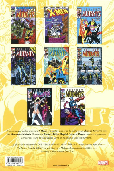 Dos The new mutants - intégrale tome 4
