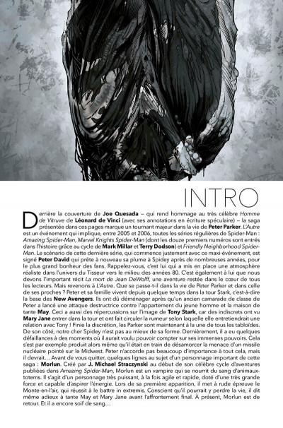 Page 4 Spider-man - L'autre (deluxe)