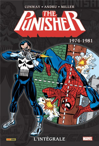 Couverture Punisher - intégrale tome 1