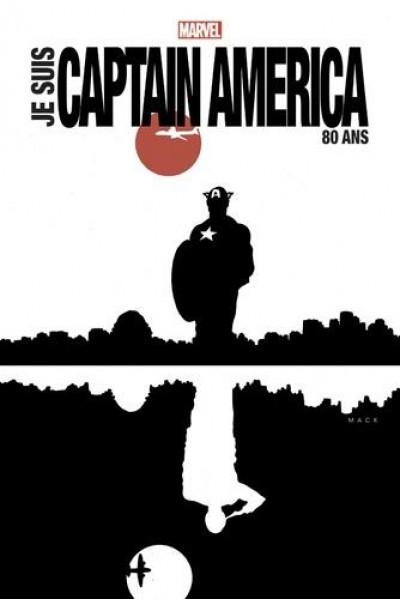 Couverture Je suis Captain America (édition 80 ans)