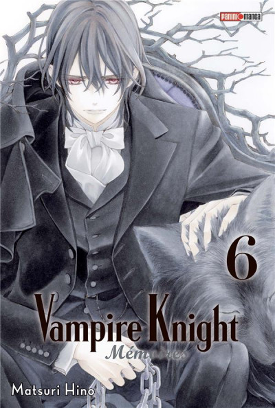 Couverture Vampire knight - memoires tome 6