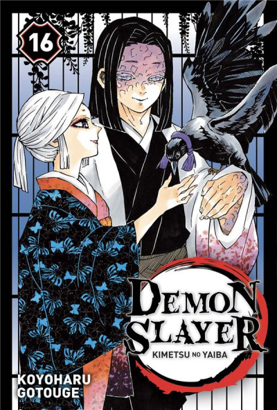 Couverture Demon slayer tome 16