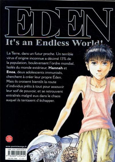 Dos Eden - perfect edition tome 1