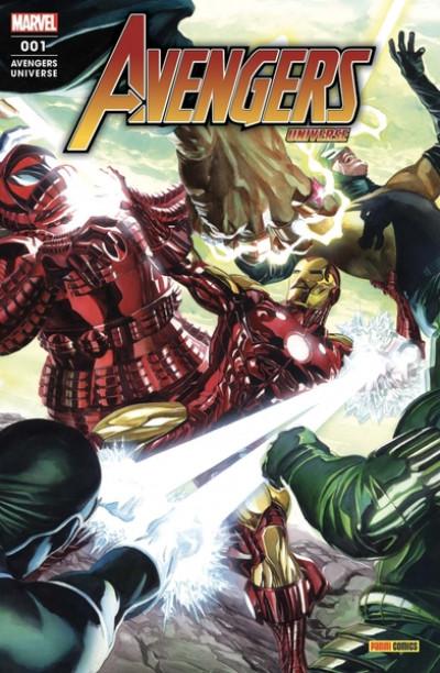 Couverture Avengers universe tome 1