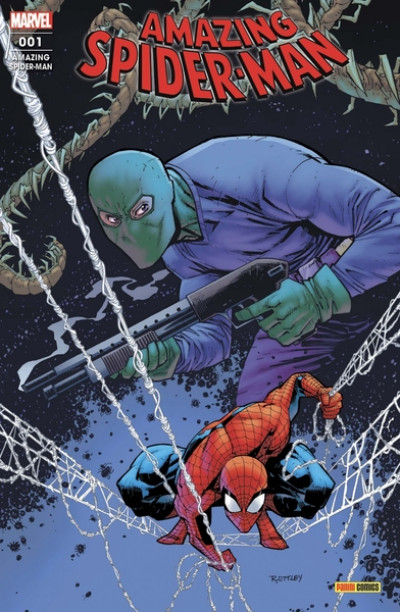 Couverture Amazing spider-man (2021) tome 1
