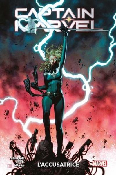 Couverture Captain Marvel tome 4