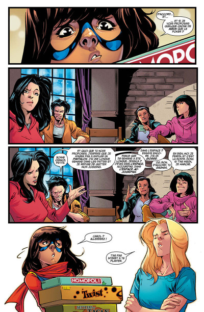 Page 8 Captain Marvel tome 4