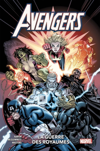 Couverture Avengers tome 4