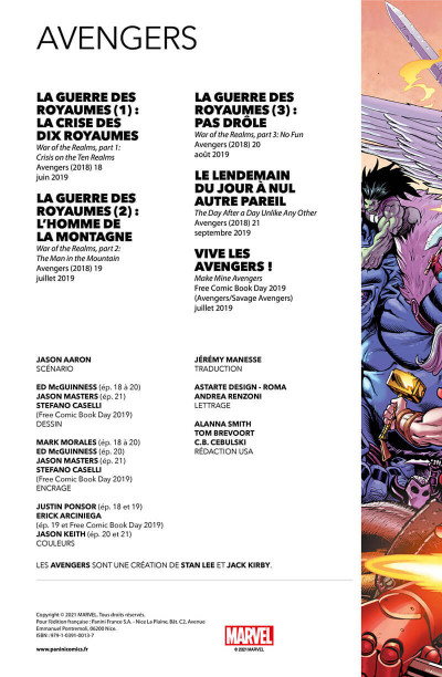 Page 2 Avengers tome 4