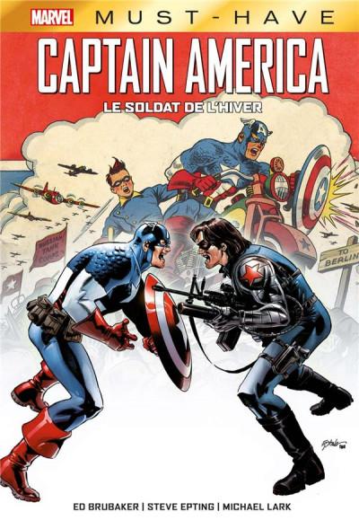 Couverture Captain America - Le soldat de l'hiver
